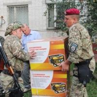 Чернігівці поїхали в зону АТО змінити своїх побратимів. ФОТО